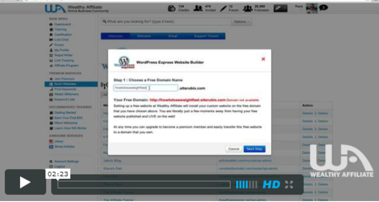 Making a wordpress website in 30 seconds